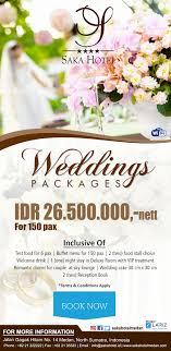 wedding packages wedding package saka hotel premiere medan saka hotel premiere medan