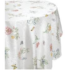 lenox butterfly meadow 70 inch tablecloth walmart