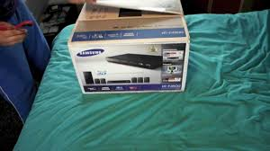 samsung home theater manual samsung htf4500 unboxing youtube