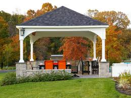 Kitchen Outdoor Design Awesome Outdoor Pavilion Plans At The Backyard With Outdoor