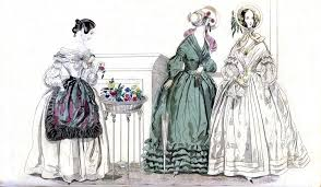 godeys book april 1840 godey s s book fashion plate fashion plate flickr