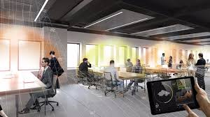 Tech Office Pictures | this high tech office will give everyone their own thermal bubble