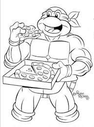 teenage mutant ninja turtles printable coloring pages at best all