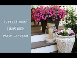 Pottery Barn Lantern Diy Pottery Barn Inspired Lantern Youtube