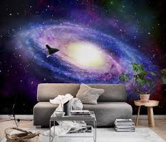 galaxy wall mural galaxy wall mural photo wallpaper black happywall