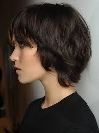 Frisuren Mittellange Wellige Haare by Die Besten 25 Frisuren Für Dickes Haar Ideen Auf