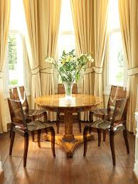 Curtains For Dining Room Windows Bay Windows Curtain Dining Room Contemporary With Neutral Colors