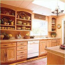 Kitchen Display Cabinets Open Kitchen Display Shelves