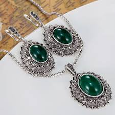 vintage necklace sets images Fashion women 39 s vintage jewelry sets of wedding accessories jpg