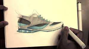 sketch a day 381 shoe sketch youtube