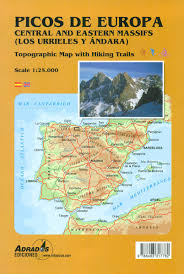 Toledo Spain Map by Spain Adrados Hiking Maps Stanfords