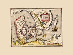 atlas k che scandinavia map denmark ortelius 1570