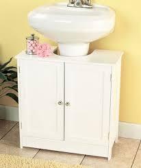 Under Bathroom Sink Storage Ideas by Best 25 Pedestal Sink Storage Ideas On Pinterest Small Pedestal