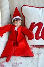 diy elf on the shelf coat allfreechristmascrafts com christmas