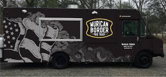 american flag truck murican border food truck illustration vehicle wrap american flag