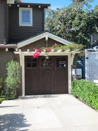 garage doors trellis over garage door the kits diy building