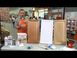 Rustoleum Cabinet Refacing The Home Depot YouTube - Kitchen cabinet kit