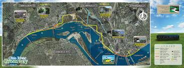 Ohio Rivers Map by Project Map Ohio River Greenway