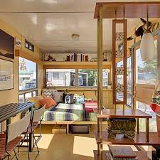 Mid Century Modern Tiny House 7 Vintage Trailer Homes To Crush On Vintage Travel Trailers
