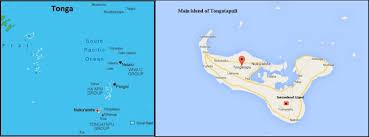 tonga map visit to tonga reports back