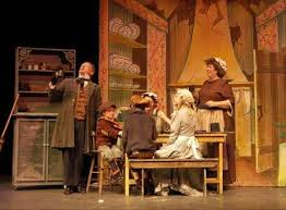 simple theatre set designs for a christmas carol google search