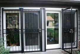 Secure Patio Door Burglar Bars For Sliding Glass Doors Miketechguy