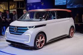 new volkswagen bus 2017 volkswagen budd e concept revealed at ces autocar