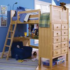 Storage Loft Bed With Desk 25 Awesome Bunk Beds With Desks Perfect For Kids