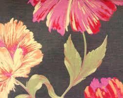 Hawaiian Curtain Fabric Brown U0026 Silver Damask So Fabric By The Yard Curtain Fabric