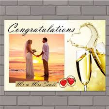 congratulation poster personalised congratulations wedding engagement anniversary party