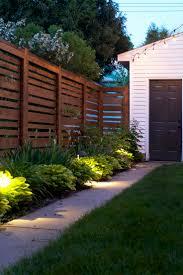 outdoor fence lighting sacharoff decoration