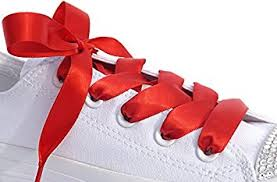 ribbon shoe laces satin ribbon shoe laces shoe strings to fit