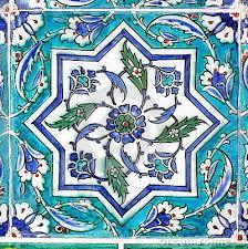 Ottoman Tiles Ottoman Tile In Turquoise Aqua To Turquoise Pinterest