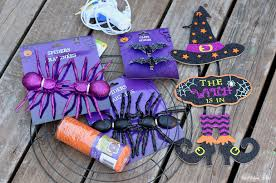 diy dollar store halloween witch wreath annmarie john