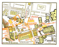 Roman Map Roman Forum Location Map History U0026 Pictures Rome