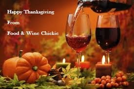 happy thanksgiving food wine chickie insider