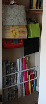 gift wrap storage ideas gift wrap organization storage the lovebugs