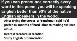 Pronounciation Of Meme - if you can pronounce every word in this poem you will be speaking