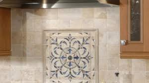 Kitchen Medallion Backsplash Magnificent Kitchen Small Back Splash Medallions Mosaic And