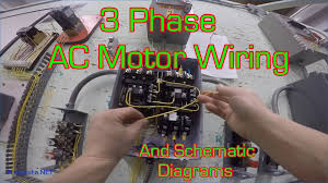 3 phase electric motor starter wiring diagram tamahuproject org
