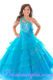 Inexpensive Children S Clothing 2015 New Arrival Little Ball Gown Scoop Appliqued Glitz