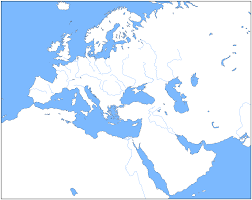 outline map middle east outline map of europe and middle east with a blank thread with the