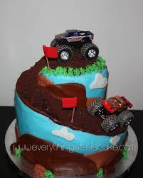 monster truck spiral cake everything else is cake