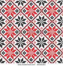 ukraine pattern vector image stock vector seamless embroidered good like handmade cross