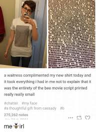 25 best memes about the bee movie script the bee movie