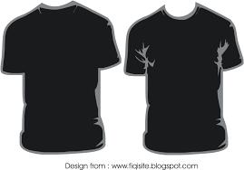 desain baju kaos hitam polos kemeja seragam satuan desain baju kaos polos