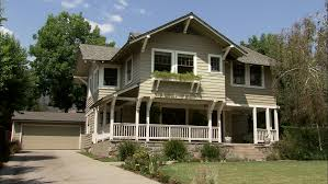 Two Story Craftsman Day Hold Wide Approx 8 Seconds Right Aked Left Two Story Brown