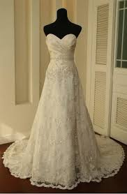Vintage Lace Wedding Dress Vintage Lace Wedding Dress A Line Bridal Gown Wedding Dresses On