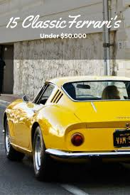 vintage ferraris for sale 408 best cars images on car cars and