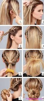 Hochsteckfrisurenen Zum Selber Machen Schulterlange Haare by 100 Hochsteckfrisurenen Anleitung Kinnlanges Haar